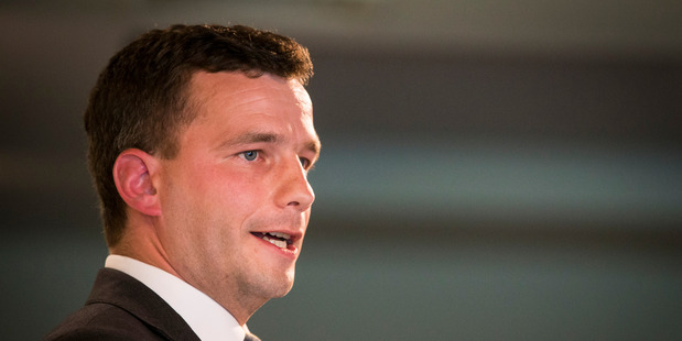 Act Party leader David Seymour was pleased with the amount raised. Photo / Jason Oxenham.