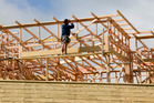 After a strong rise in February, residential building consents dipped in March.