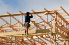 Auckland building sector inflation is worrying Labour. Photo/Mark Mitchell