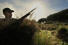 Duck shooting begins in two weekends' time.