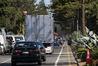 Some Napier residents say trucks using alternative routes to Marine Parade are posing a danger to residential streets.