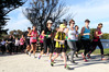 There were smiles and strides during last year's 8km McDonald's walk/run from Haumoana to Clive, which is one of four events in the Hawke's Bay Today Country2Coast. Photo/Duncan Brown