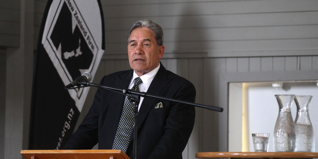 Winston Peters has been criticised for comments about Herald reporters. Photo / Duncan Brown