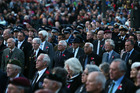 Thousands attended the ANZAC ceremony in Whangarei in 2016.