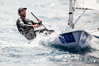 Sam Meech in action sailing the Laser class at Hyeres, France. Photo / File