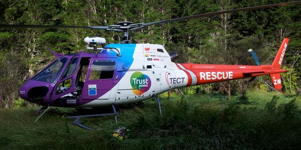 Trustpower TECT Rescue Helicopter. Photo/File