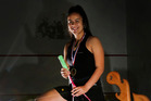 Another First: Rhiarne Taiapa is the first Hawke's Bay squash player to win an Oceania age group title. Photo/Duncan Brown