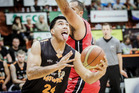 Points Time: Hawks forward Ana Haku heads for the basket during today's loss to the Canterbury Rams. Photo/Paul Taylor