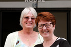 Trish Madison, left and Tracey Hodgkinson opening their Skills for Life Charitable Trust in Rathbone Street, Whangarei 20 April 2017 Northern Advocate photograph by John Stone