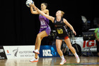 Magic's midcourter Sam Sinclair is in action this weekend, in what could be a pivotal moment in the ANZ Premiership. Photo/File