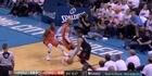 Watch: Watch: Adams goes big in loss to Houston Rockets