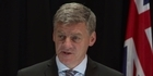 Watch: Watch: PM Bill English announces new cabinet line-up