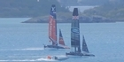Watch: Watch: Boaties getting too close to America's Cup teams on the water