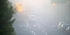 Watch: Watch: Traffic cams show arrival of thick fog in Christchurch