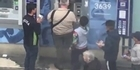 Watch: Watch: Pensioner fights back against child pickpockets