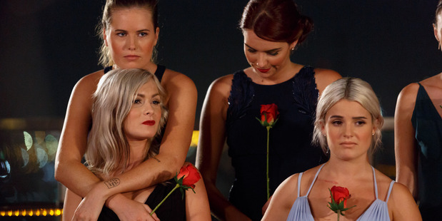 Claudia weathers another emotional rose ceremony. Photo / Supplied