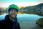Biker's long trek a salute to big bro