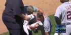 Watch: Watch: Detroit Tigers' JaCoby Jones takes fastball to the face
