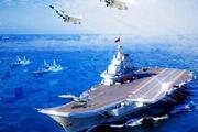 China wanted to do something nice to celebrate its navy's birthday so it released a flashy image of its seafaring might. Only problem was the really, really bad photoshop effort. Photo / Supplied