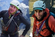 Climbers Conor Smith and Sarwan Chand died after falling from Marian Peak in Fiordland. Photo/NZ Alpine Team