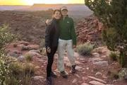 The final photos of a grandmother and her step-grandson have been posted after they went missing in the Grand Canyon. Photo/Mark McOmie Facebook
