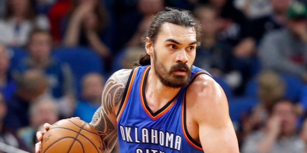 Kiwi Steven Adams needs to speak up and stand up for himself. Photo / AP