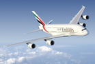 Emirates Air Airbus A380.