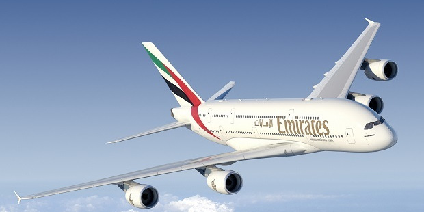 Emirates Air Airbus A380.