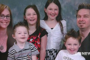 Four children (L-R) Kod, Aniston, Daeja, and Urban, will grow up without parents after their father Gregory Floyd (R) shot wife Ora Holt (L) in a murder-suicide. Photo / 9 News