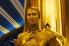 BREATH OF FRESH AIR: Elizabeth Debicki plays Ayesha in Guardians Of The Galaxy Vol. 2.