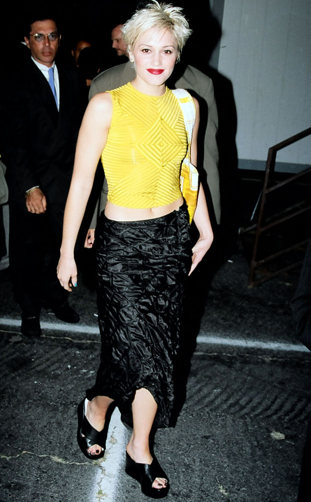 Gwen rocking similar slides in the 90's. Photo / Getty Images