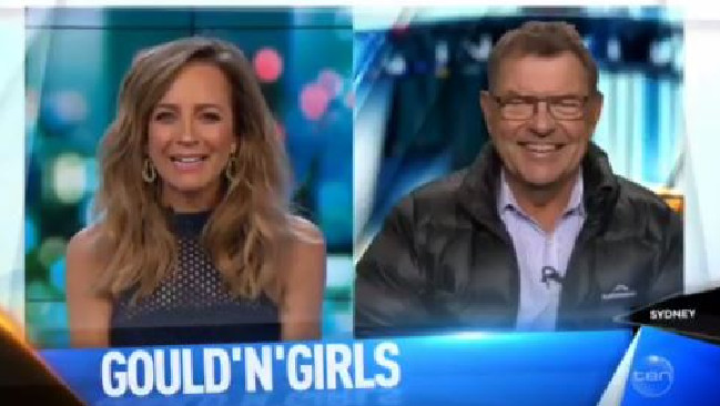 Carrie doesn't let Pricey off easily.Source:Channel 10
