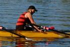An emotional Paula Storey reflects on her rowing victory at World Masters Games, Lake Karapiro. Photo/CMG Sports