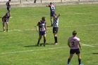 25 minutes into what was a semifinal clash, a Saint-Esteve player was sent off by referee Benjamin Casty. Then things took a nasty turn.