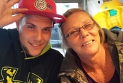 Sherri Kent pictured with her son Michael before he overdosed. Photo / Facebook
