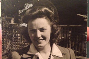 A photo of the mysterious Vicky who was in Auckland in 1944. Photo / Supplied, Thibodeau family