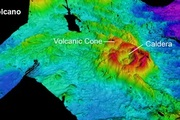 A 3D bathymetric map showing a newly discovered volcano in the Havre Trough. Photo / RV SONNE