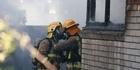 Watch: Watch: Mangere house fire