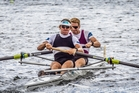 Tom Murray and Jamie Hunter. Photo / Hamish Burson/Rowing NZ