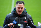 New Zealand head coach David Kidwell speaks to the media. Photo/Photosport