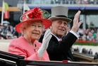 Queen Elizabeth has described Prince Philip as