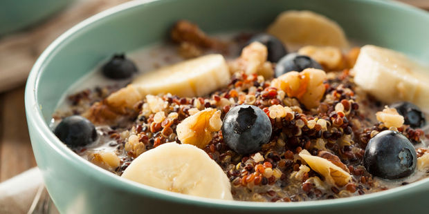 Quinoa is a great post workout protein booster. Photo / 123rf