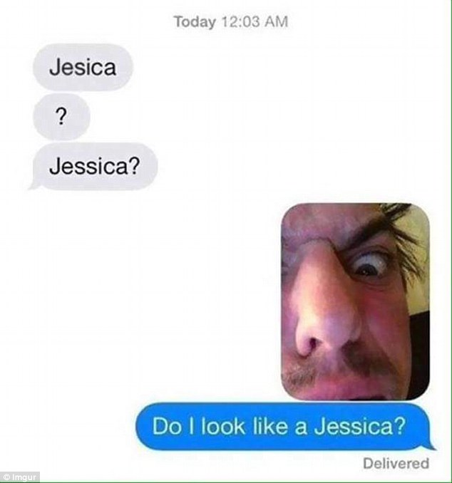 It was clear the man was not Jessica. Photo / Imgur