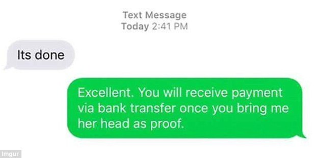 A hilarious collection of images have revealed the very awkward text exchanges people have had when they text the wrong number. Photo / Imgur