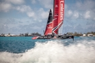 Team New Zealand could be in line to crack the 50-knot top-end speed barrier off Bermuda but it won't be easy, warns skipper Glenn Ashby.