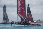 Team New Zealand are off to a winning start in Bermuda. Photo / Hamish Hooper