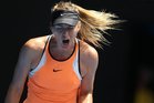 Sharapova was hit with a 15-month ban after testing positive for the banned substance meldonium. Photo / Photosport