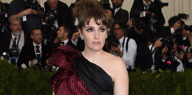 Loading Lena Dunham was reportedly taken to hospital after attending the Met Gala. Photo/AP