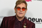 Sir Elton John was forced to cancel a number of upcoming shows after a rare and potentially deadly bacterial infection. Photo / AP