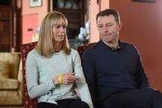 Kate and Gerry McCann, interviewed by the BBC. Photo / AP